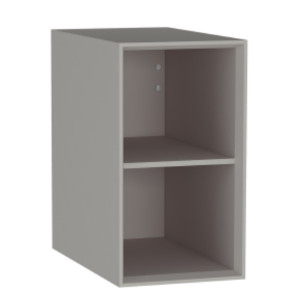 An image of Vitra Frame 225 X 415mm Wall Mounted Cupboard Unit Matt Taupe