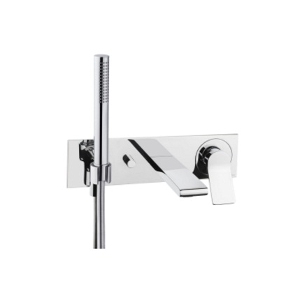 Vitra Memoria Built In Bath Shower Mixer Tap With Attachment