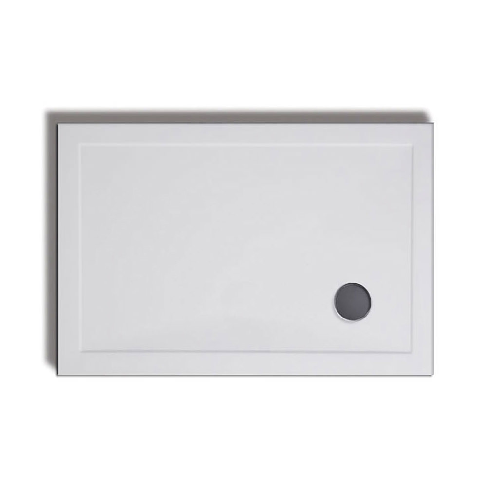 Lakes Bathrooms 1200 X 900 Stone Resin Rectangular Tray And Riser Kit