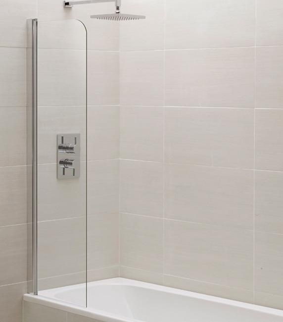 An image of April Identiti2 Mini Standard Bath Screen 300mm