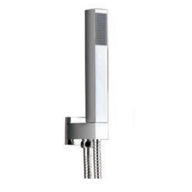 An image of Avenue Square Side Shower with Combined Outlet Holder