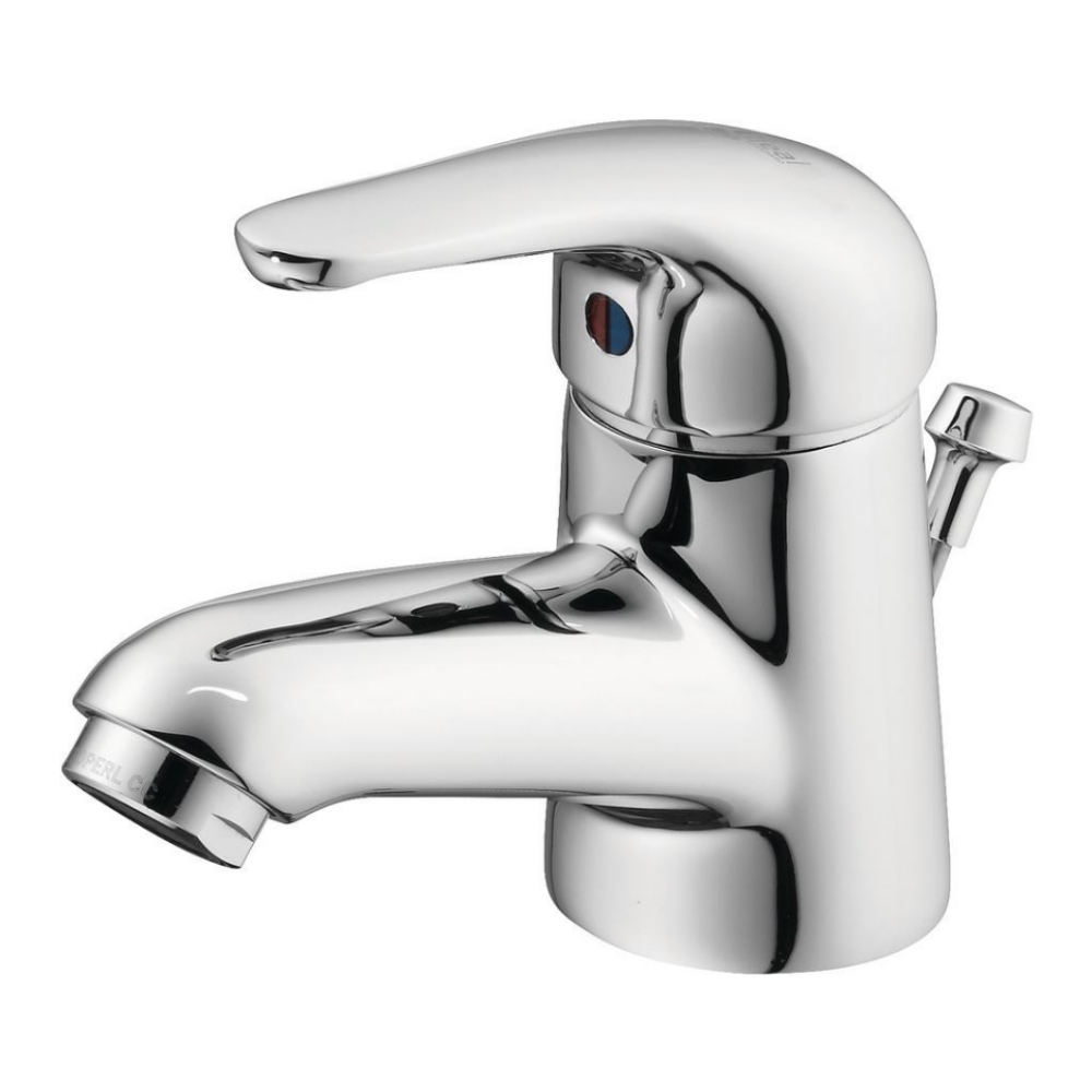 An image of Ideal Standard Opus Single Lever Basin Mixer Tap With Pop Up Waste