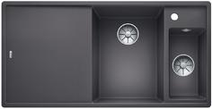 An image of Blanco Inset Silgranit Kitchen Sink AXIA III 6 S RH Bowl ROCK GREY