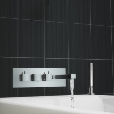 Tmv2 Square Concealed Thermostatic Bath Shower Mixer Tap
