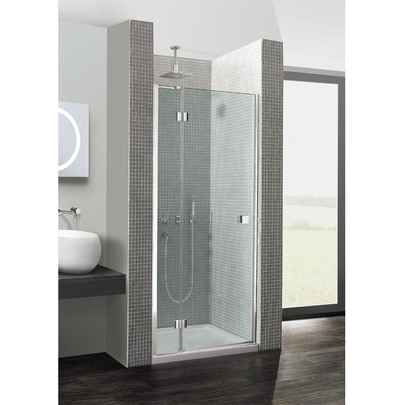 sc 1 st  Ergonomic Designs & Simpsons Design 1200mm Hinged Shower Door With Inline Panel
