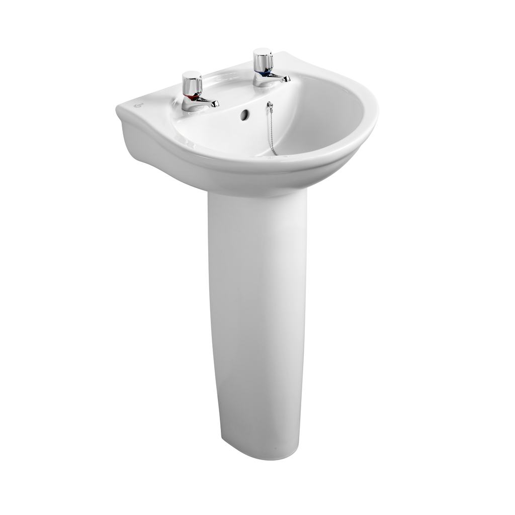 Ideal Standard Alto Washbasin 2 Tap Hole 500mm