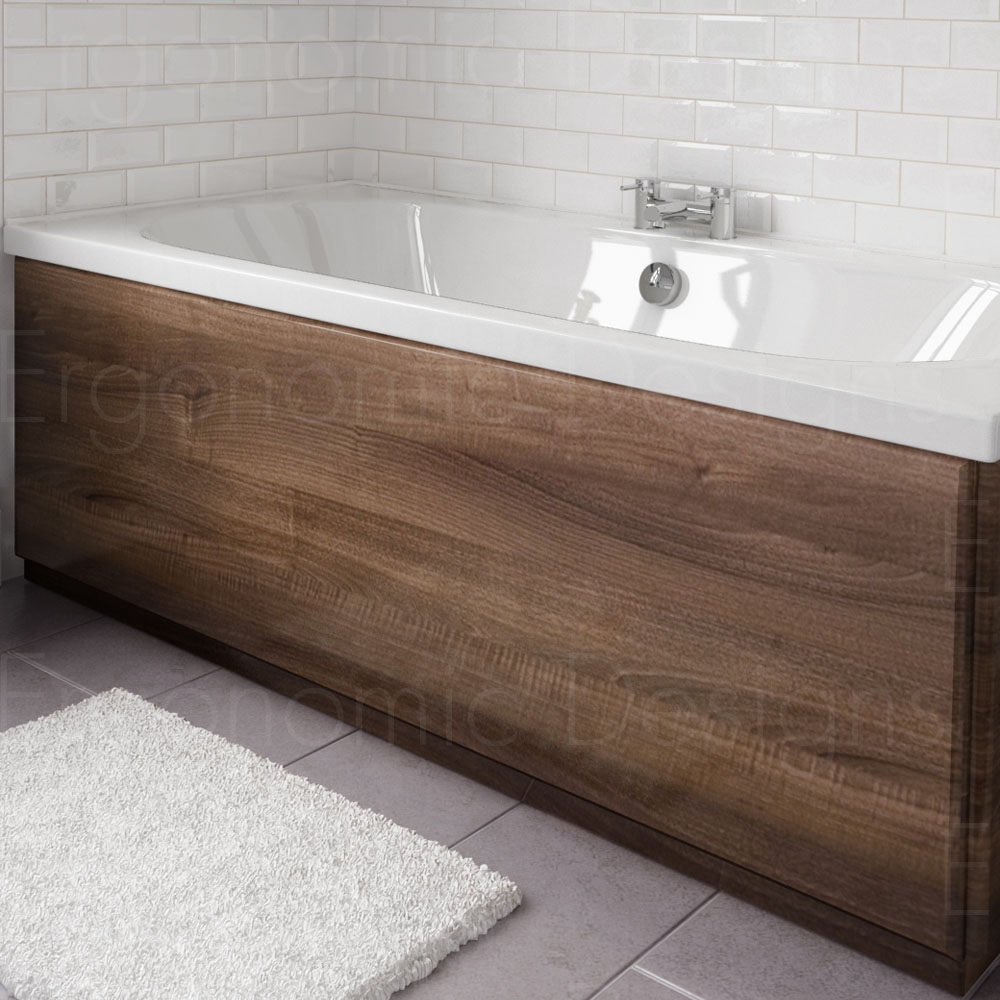 Ergonomic Designs Wood Bath Side Panel 1700mm Edpan119 Ebay