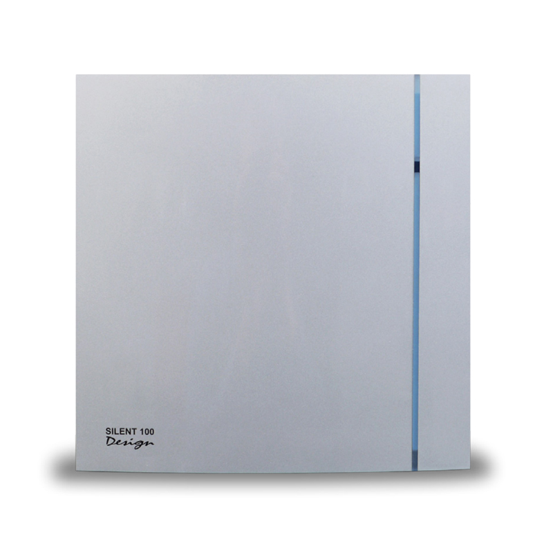 An image of Envirovent Silent 100 Extractor Standard Model Silver