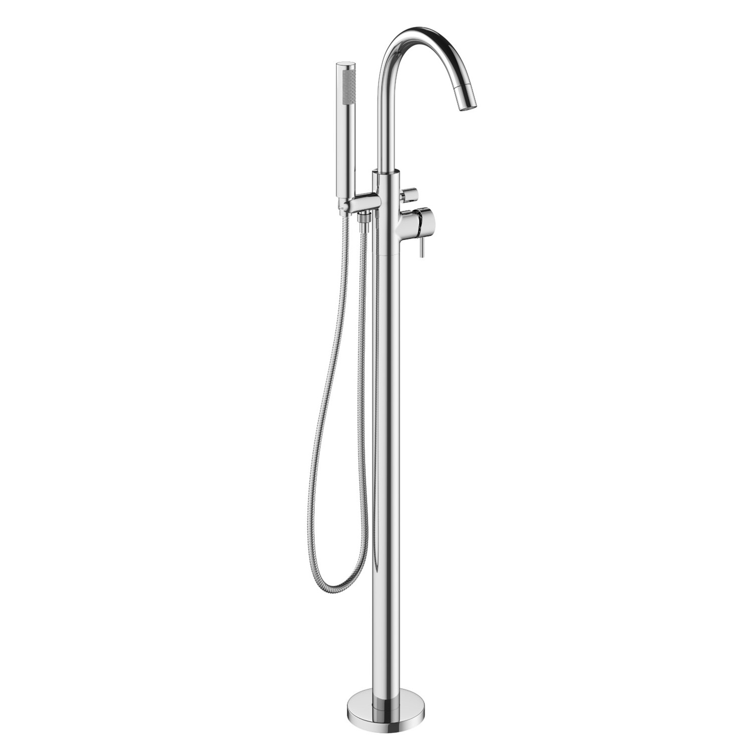 Crosswater Mike Pro Chrome Freestanding Bath Shower Mixer Ta