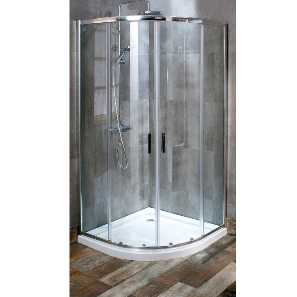 Cassellie DL 900 X 900mm Quadrant Shower Enclosure