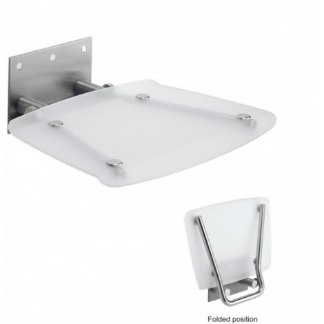 Simpsons 360 X 360 Square Wall Mounted Shower Seat