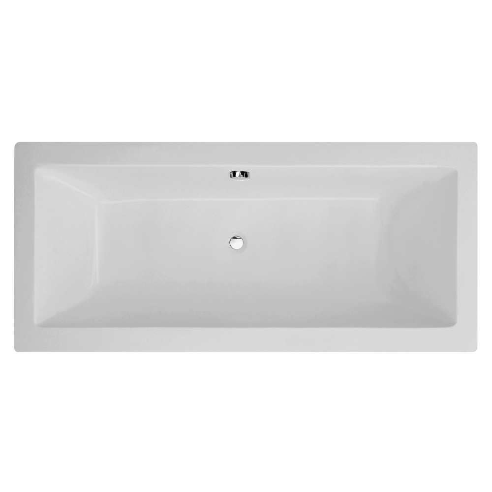 An image of Frontline Carrera 1700 X 700mm Square Double Ended Tungstenite Bath