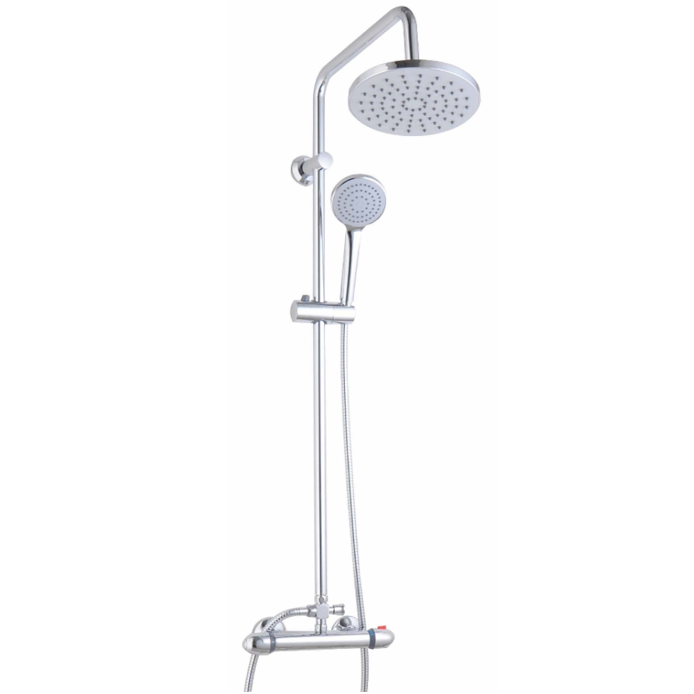 An image of Cassellie Thermostatic Exposed Shower Pole