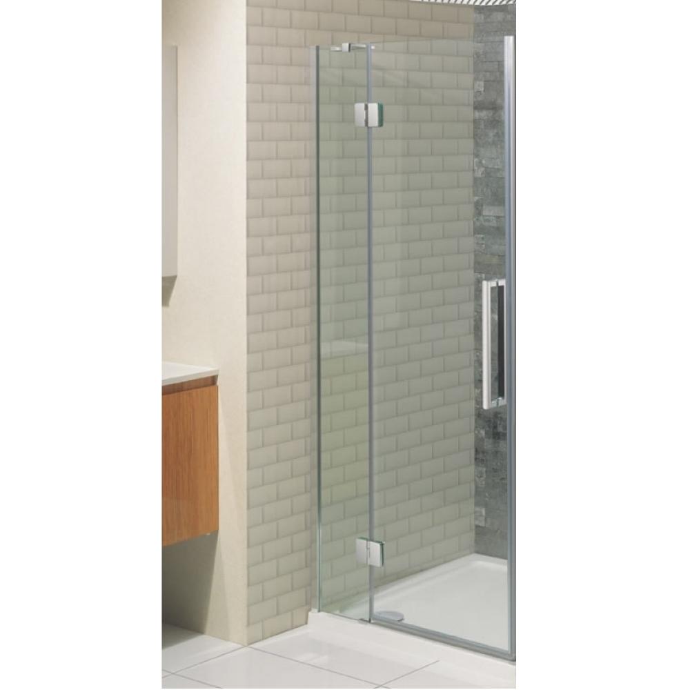 Simpsons Ten 800mm Hinged Shower Door With Inline Panel